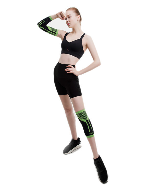 Functional and unisex knee pad and wrist support