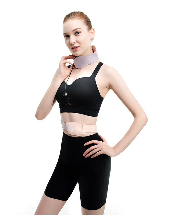 The smart heating-neck protection and waist protection wearable